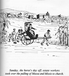 A cartoon from To Shoot Hard Labour tells its own story.