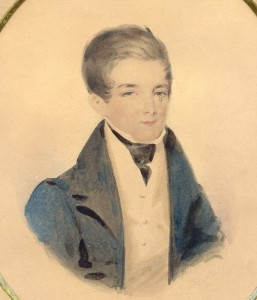 Probably a young Sir Oliver Nugent, son of Dr Nicholas