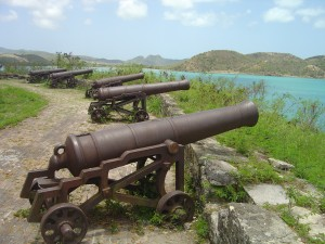 Fort James, built in 1703 to guard the entrance to St John's harbour, was the island's largest fort with 16 guns