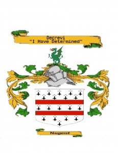 Nugent Coat of Arms and Motto