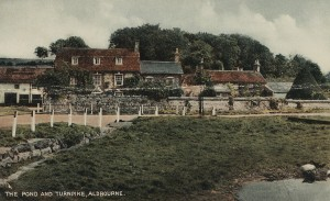 Ivy Cottage, Aldbourne, in the early 1960s