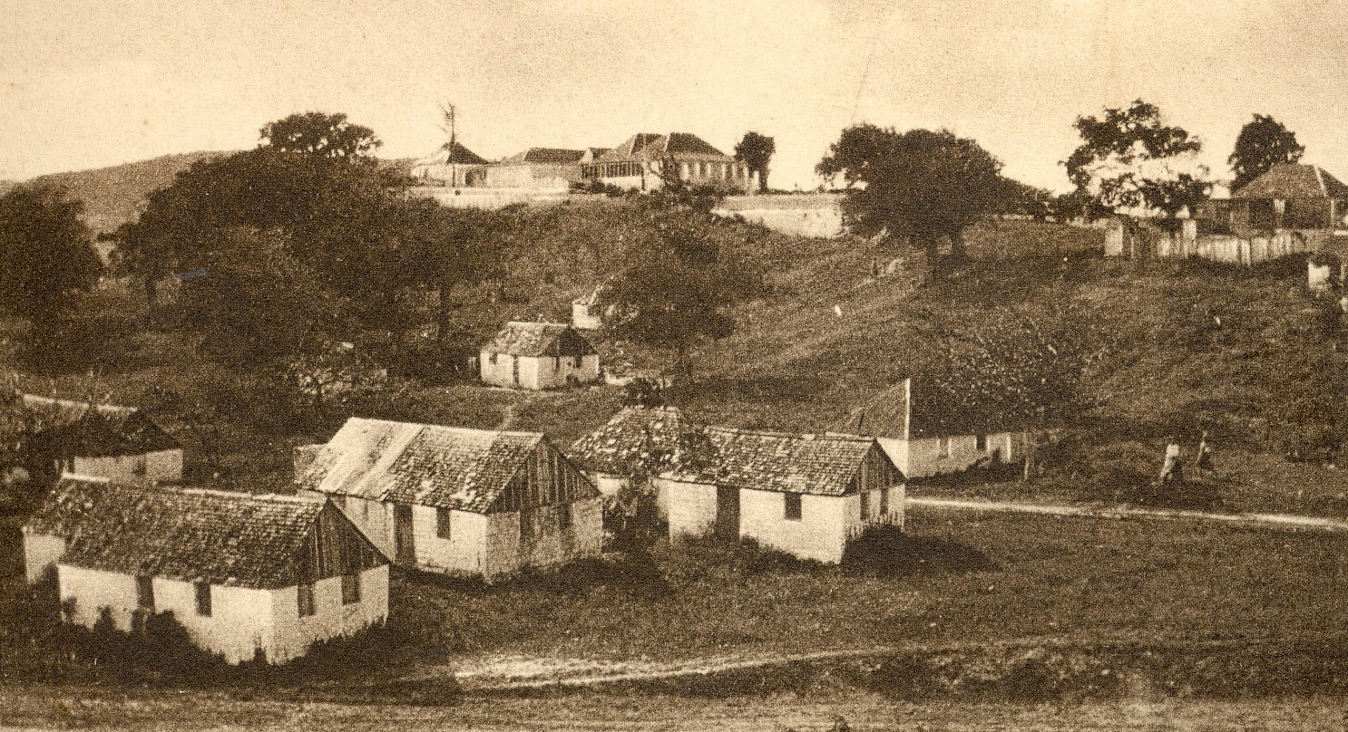 The family-run Millars estate on the site now occupied by Antigua's airport