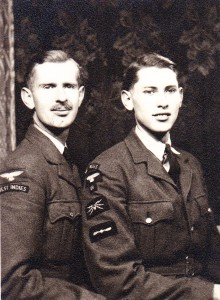 While training Oliver met his younger brother Osbern George, also an RAF trainee,  in Toronto: date 20 November 1943
