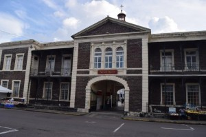 The old treasury building is now St Kitts National Museum. Below: another view of Brimstone Hill.