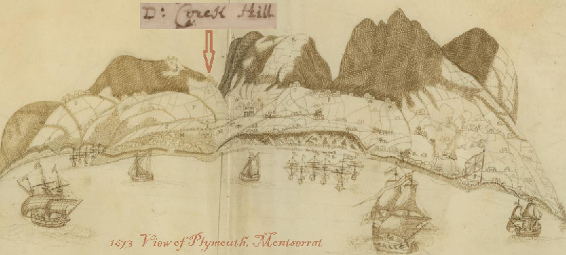 Montserrat in 1673. Plymouth, formerly the island's chief town, was destroyed in 1995 when the Soufrière Hills volcano erupted rendering the southern half of the island uninhabitable.